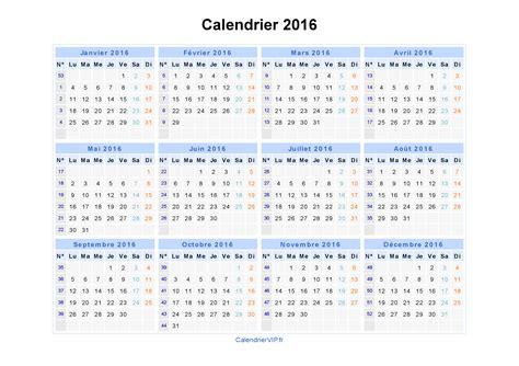 Calendrier 2016 à Imprimer Gratuit Excel Calendrier 2016 224 Imprimer Gratuit En Pdf Et Excel