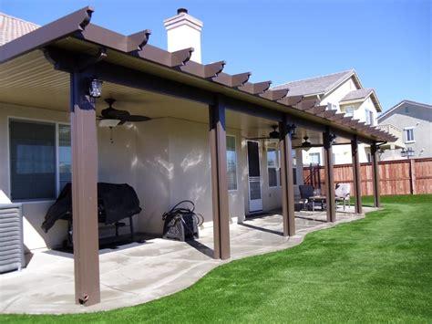 Insulated Vs Non Insulated Aluminum Patio Cover   Home