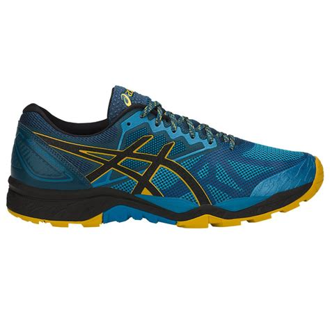 asics sneakers mens asics gel fujitrabuco 6 mens running shoes