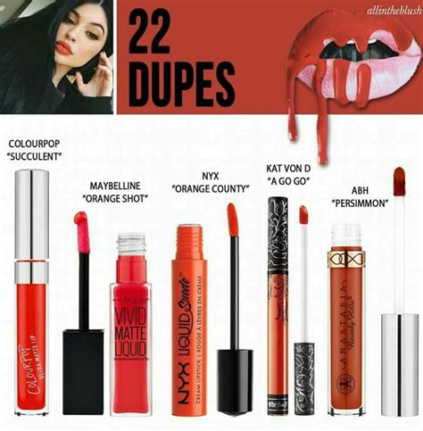 Lip Kit In 22 lip kit 22 dupe products