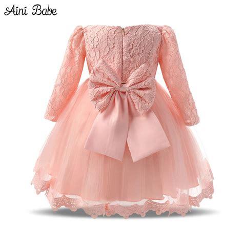Kasur Baby S Wear מוצר autumn baby dress sleeve pink white