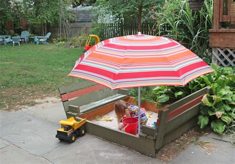 bench sandbox diy sandbox with lid benches stately kitsch