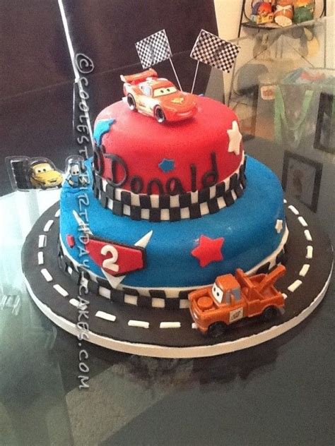 coolest cars  cake    year  boy disney cake ideas  cars