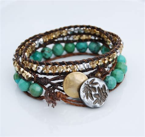beaded wrap bracelet make bracelets make bracelets
