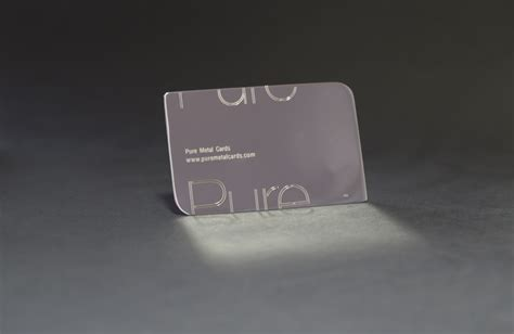 Silver Business Cards