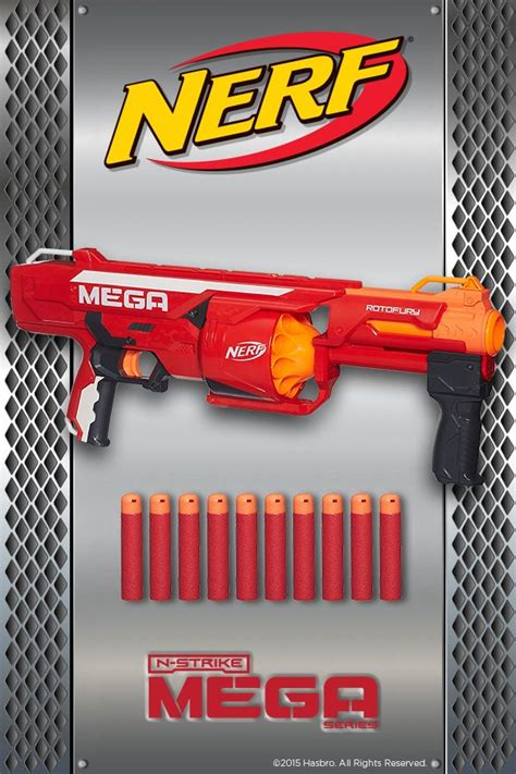 nerf  strike mega series rotofury blaster  ojays whistler  target
