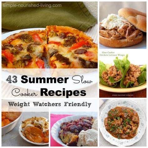 cooker weight watchers recipes summer cooker recipes for weight watchers simple