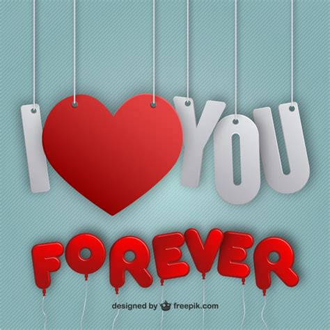 images of love u forever i love you forever vector free download
