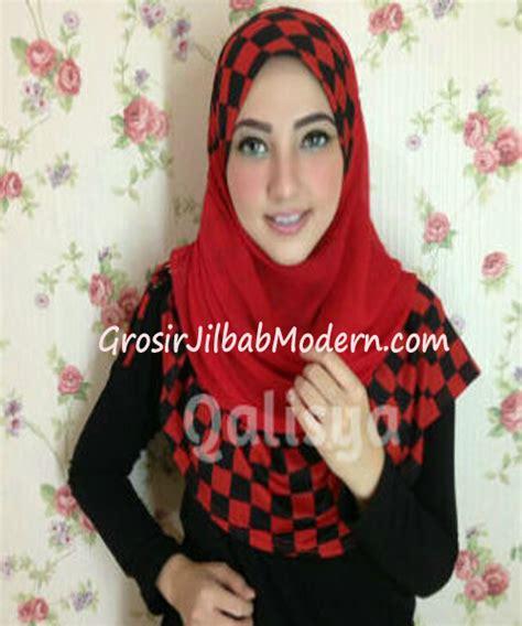 Elmo Syiria Jilbab Elmo Anak jilbab syria elmo no 3 merah hitam grosir jilbab modern