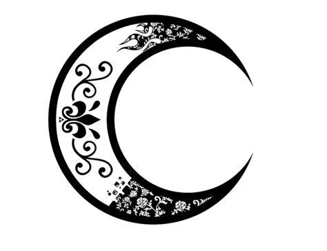 tribal crescent moon tattoo 32 moon designs