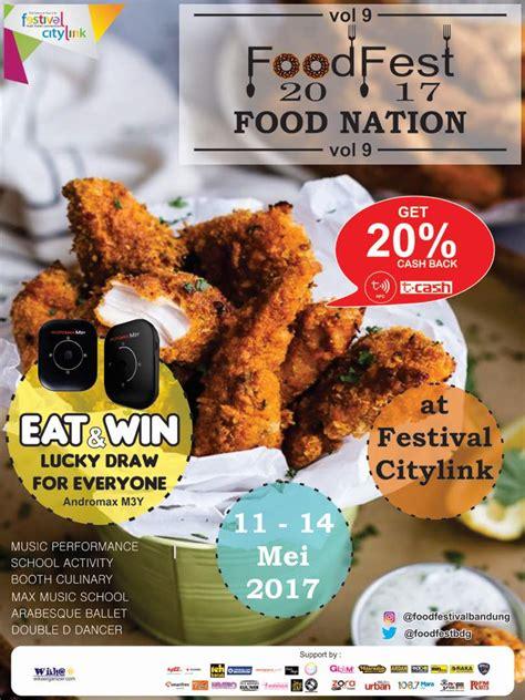 cgv festival citylink food fest vol 9 2017 food nation infobdg com