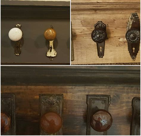 Door Knob Coat Rack by Antique Door Knob Rack Farmhouse Coat Rack Antique Glass