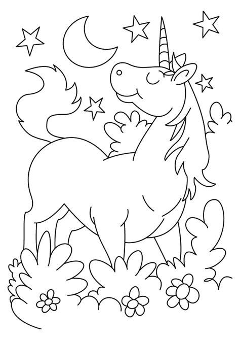 disegni con i fiori disegni da colorare degli unicorni con fiori e stelle