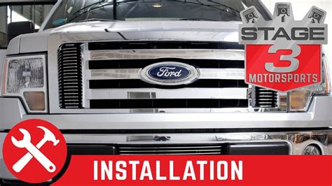 Grill Ford Laser Taxi 1986 2010 2012 f150 ecoboost carriage works side pocket grilles install