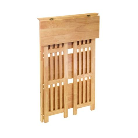 winsome wood folding bookcase winsome wood mission 4 tier folding shelf natural wood 82427