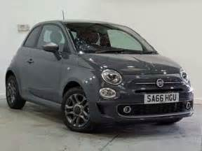 Grey Fiat 500 Used Fiat 500 Grey For Sale Motors Co Uk