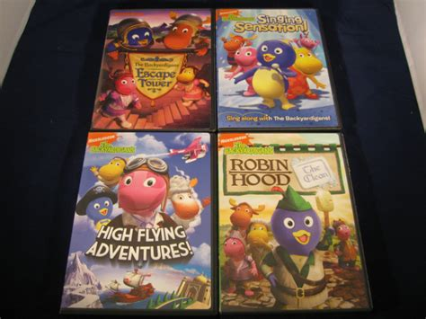 Backyardigans Singing Sensation Lot Of Four The Backyardigans Dvd Lot Escape Tower Singing