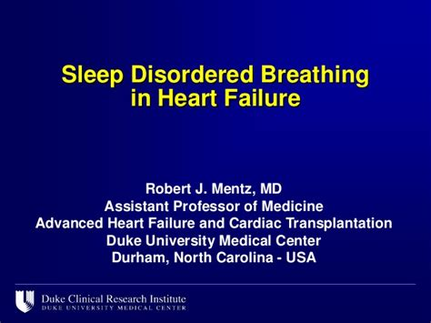 breathing pattern in heart failure sleep disordered breathing in heart failure