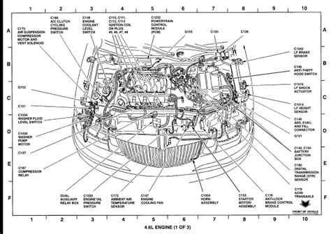 small engine maintenance and repair 1999 lincoln continental transmission control 1999 lincoln continental engine diagram engine
