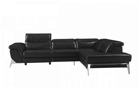 entretien canape cuir noir canap cuir design noir 3
