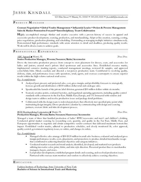 manufacturing manager resume example everything pinterest production