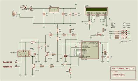 8051 inductor meter precise lc meter