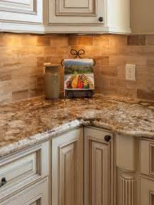 Kitchen Counters And Backsplash Traditional Tuscan Kitchen Makeover Chantal Devane Hgtv