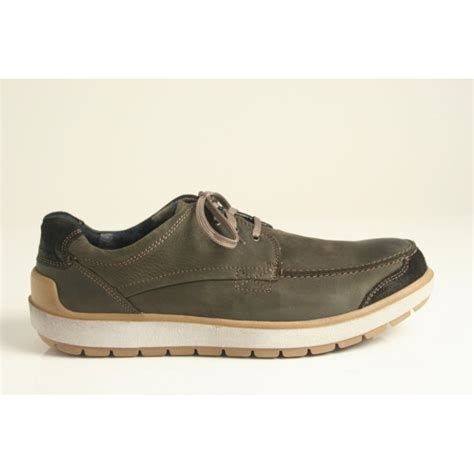 josef seibel rudi 01 s lace up shoe in grey with