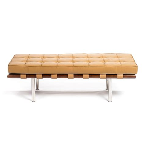 tan leather bench pavilion bench pink brown