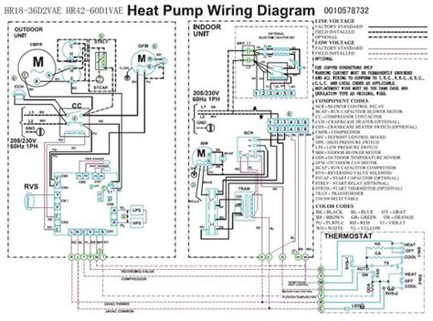 trane heat wiring diagram heat compressor fan
