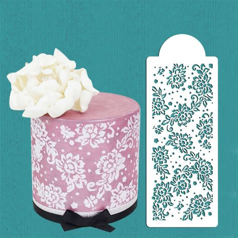 lace templates for cakes 25 best ideas about cake stencil on fondant