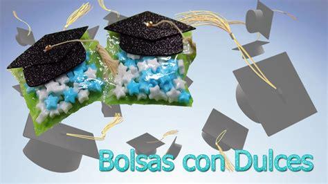 recuerdos de graduacin bolsas con dulces recuerdo graduacion youtube