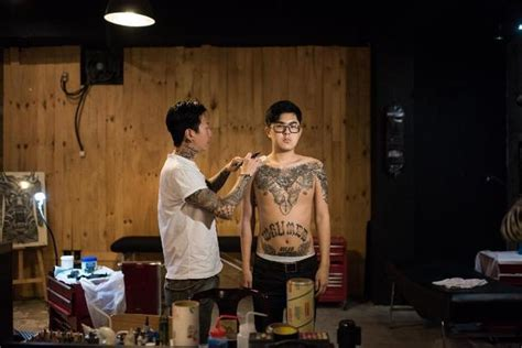 tattoo 2015 korean movie watch online korea s outlaw tattoo artists daily mail online
