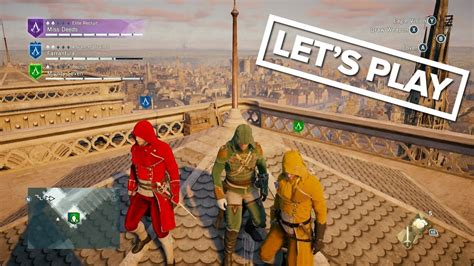 xbox one couch coop ac unity xbox one co op gameplay let s play assassin s