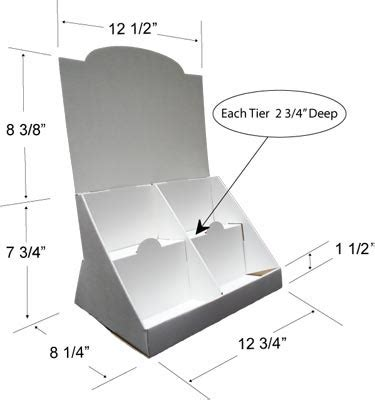 We Offer Stock And Custom Designed Countertop Displays Cardboard Counter Display Template