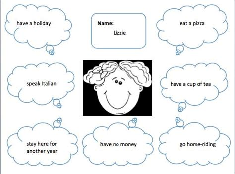 verb pattern lead 40 best images about esl activities on pinterest english