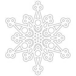 snowflake mandala coloring pages free a half dozen snowflakes to color from don t eat the