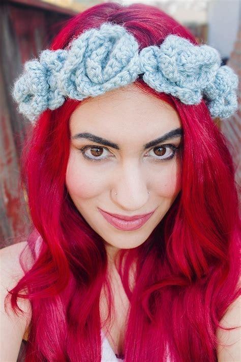 headband crochet headbands beautiful by allbabygirls crocheted floral headband 183 how to stitch a knit or