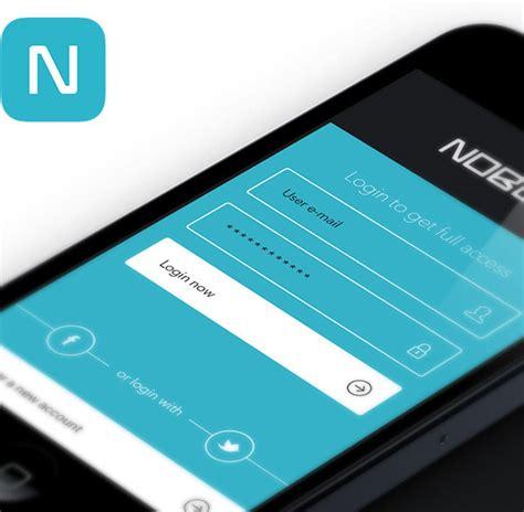 design inspiration for your app mobile app design inspiration noble designbeep