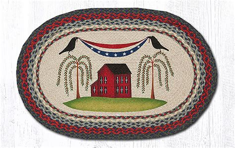 patriotic rugs patriotic braided rug by capitol earth rugs the patch