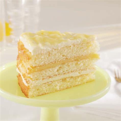 Lemonade Cake W Meyer Lemon Curd Desserts Online