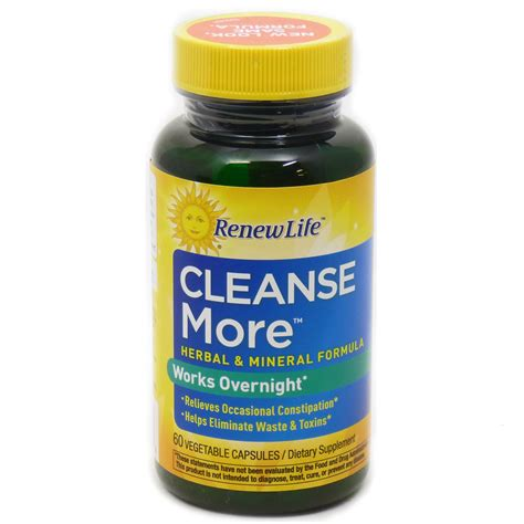 Renew Detox Review by Cleansemore By Renew 60 Capsules