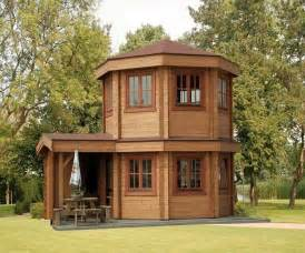 miniature homes models pavilion tiny house 001 1 it s a 16 prefabricated log cabin with a dome shape it also has an