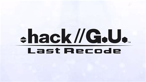 Hack G U Last Pc hack g u last recode coming to playstation 4 pc in late 2017 336gamereviews