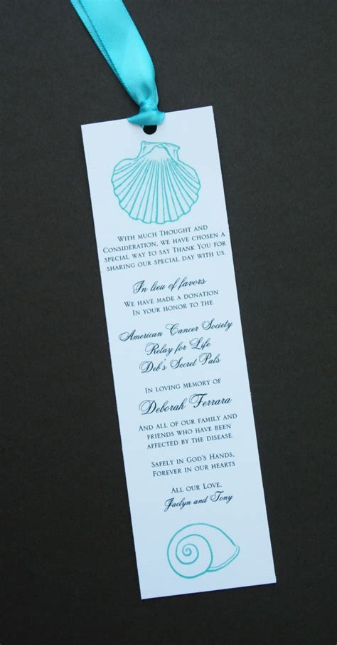 wedding favors bookmarks 18 best images about bookmark wedding favors on