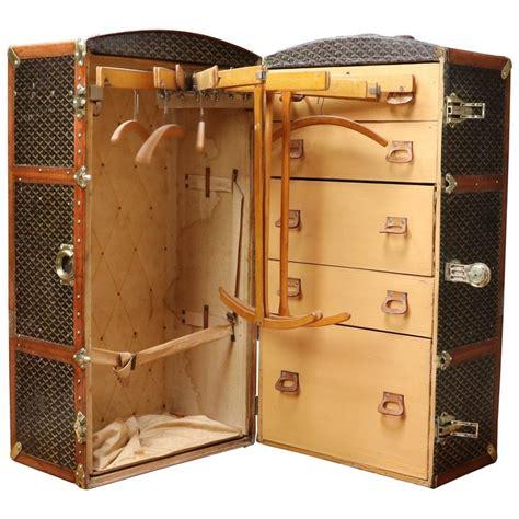 Vintage Wardrobe Trunk by 1920s Goyard Wardrobe Trunk Goyard At 1stdibs