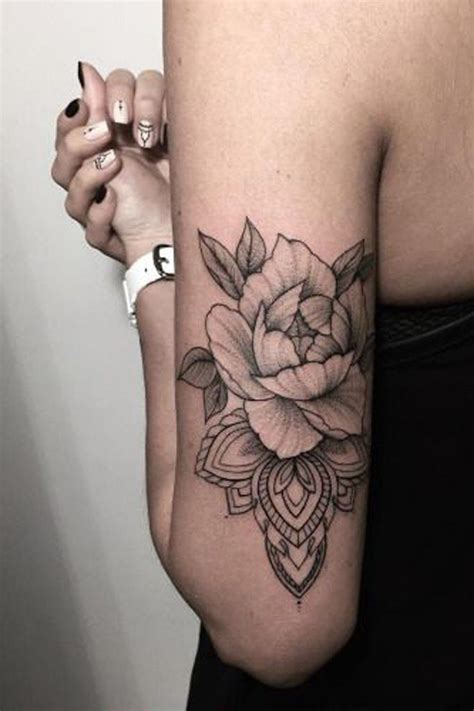 tattoo back of arm 100 of most beautiful floral tattoos ideas black roses