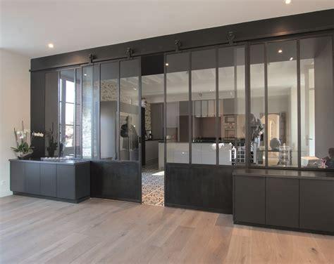 verriere interieure cuisine architecture int 233 rieur cholet nantes verri 232 re acier