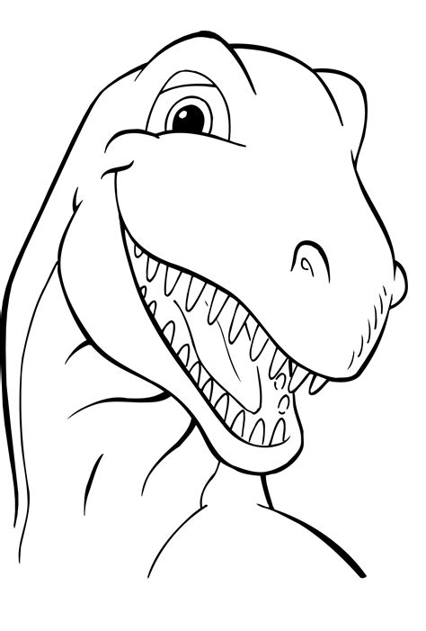 Galerry coloring pages to print dinosaurs