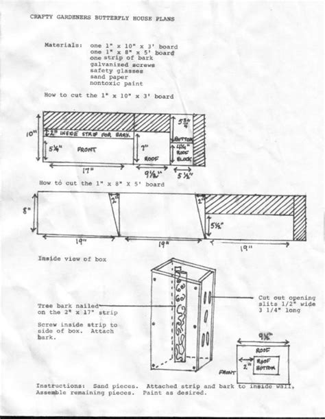 butterfly house design plans for a butterfly house my garden pinterest